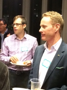 Featured Speaker: Bob Kinder (far right)